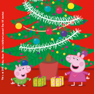 Peppa Pig Babbo Natale Da Colorare.Viva Il Natale Con I Libri Di Peppa Pig Il Divertimento E Assicurato Giunti